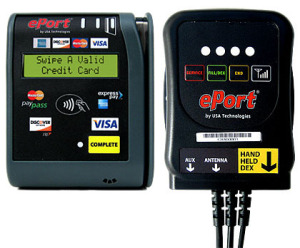 eport credit card reader vending