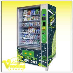 Glass Front Healthy Vending Machine
