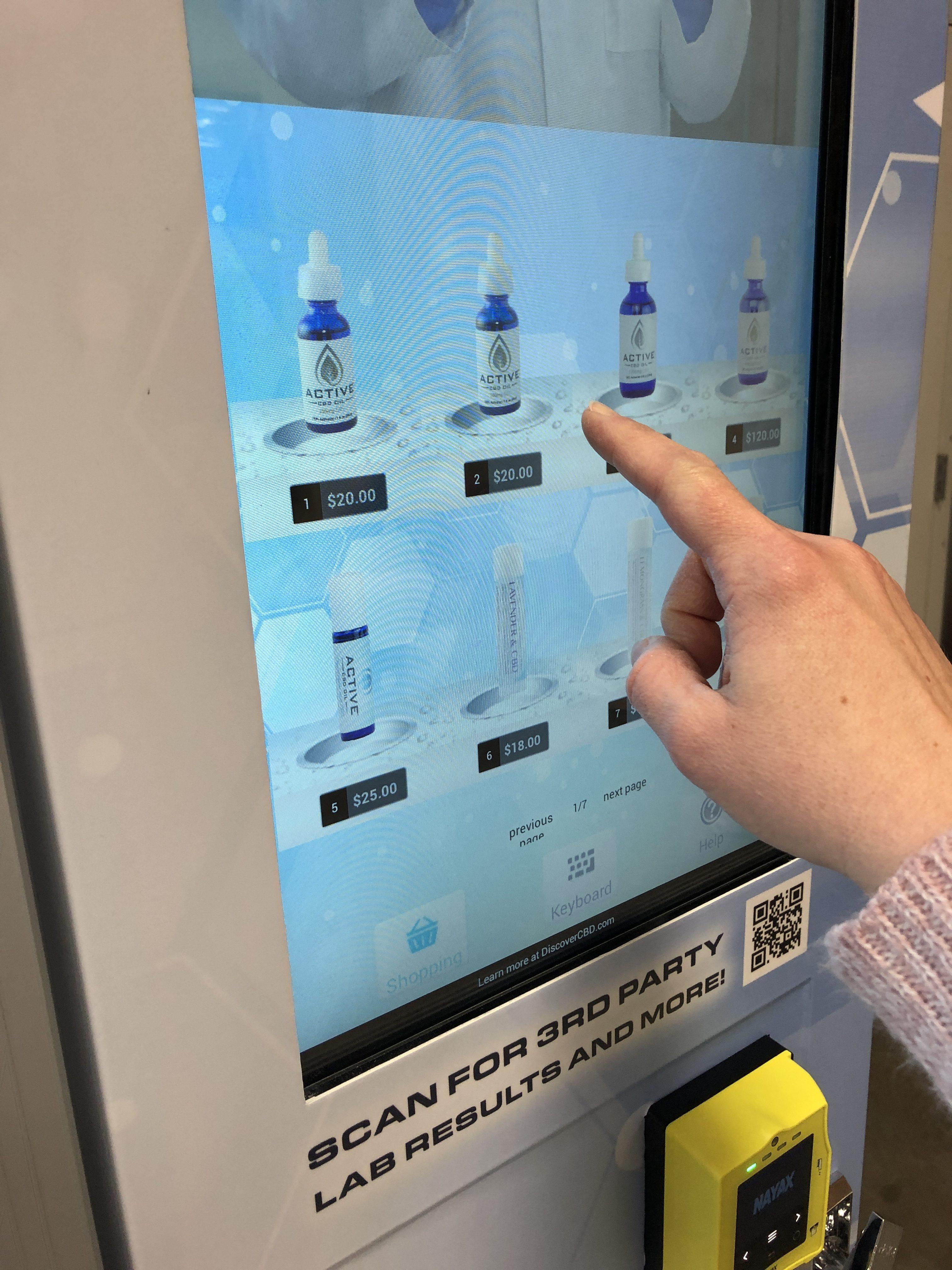 Touchscreen Technology Coming to Vending Machines